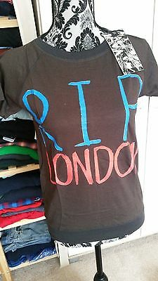 Ladies size 8-10 thick quirky t-shirt. New with tags.