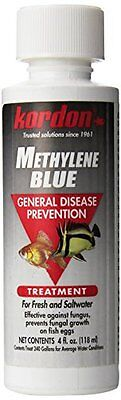 Kordon Methylene Blue-General Disease Prevention Treatment For Aquarium 4oz