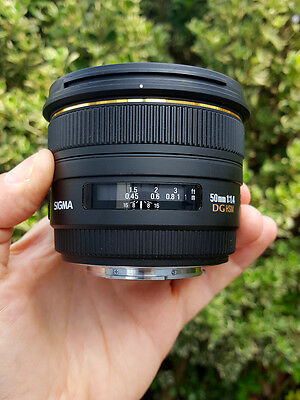 Sigma EX 50mm f/1.4 HSM EX DG Lens for Sony A-Mount