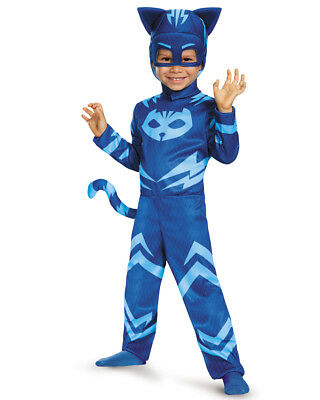 Child's Boys Classic Catboy PJ Masks Superhero Costume