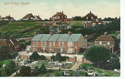 Printed postcard of Hill Crest, Hythe .Kent in very good condition.