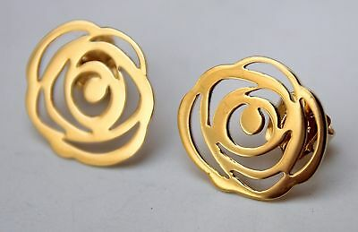 TOUS pendientes oro 18 quilates (18K. yellow gold earrings)