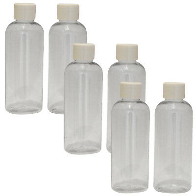 Sure Travel Holiday Triple Pack, 6 x Clear Flight Luggage 100ml Bottles + Lids