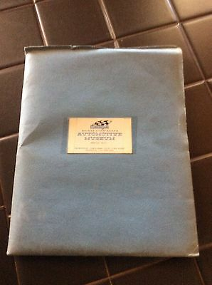 Very Rare. Briggs S Cunningham Automotive Museum Press kit with photos ect