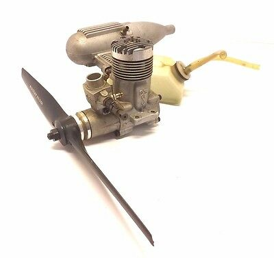 OS Max 45F R/C Model Airplane Engine 743 Muffler 4BK Carb