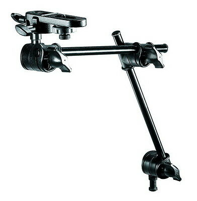 Manfrotto Light Stand 2-Section Single Articulated Arm Camera Bracket Acc Black