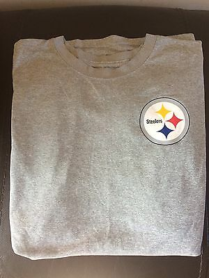 Discontinued rare Imported Official nike NFL Pittsburgh Steelers T Shirt XL Size