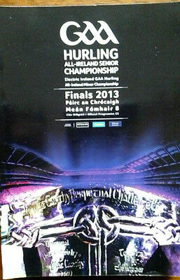Kilkenny V Tipperary 8/9/2013 Gaa All Ireland Hurling Final