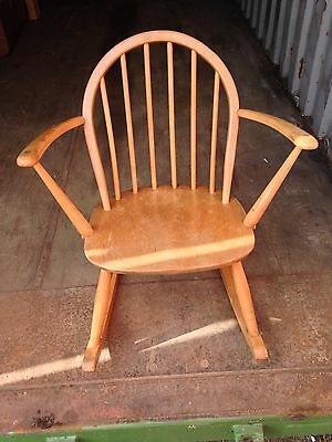 ercol childs rocking chair