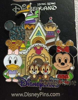 Disney pin - HKDL Sweets Jelly - Minnie Daisy Chip n Dale