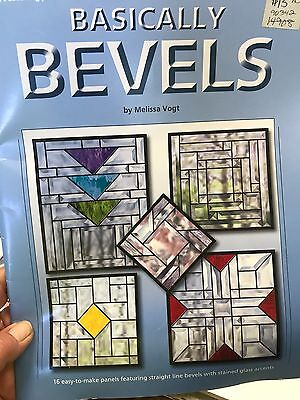 Basically Bevels Stained Glass Pattern Book