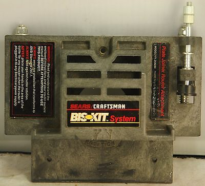 Sears Craftsman Bis-Kit System Plate/Edge Joiner, Model 171.254230, Pre-Owned