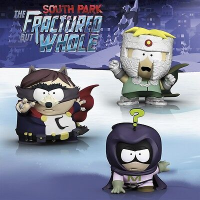 "UBI COLLECTIBLES South Park: The Fractured But Whole 3"" Figurines Pack* SEE DESC"