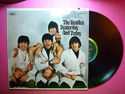 THE BEATLES Yesterday And Today Black Vinyl RE ( M/M) F