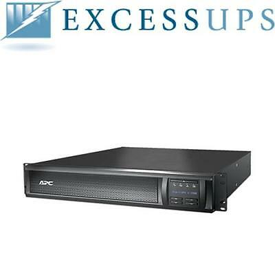 Apc Smart-Ups 1500Va Lcd 120V Smx1500Rm2U With New Batteries! 1 Year Warranty!