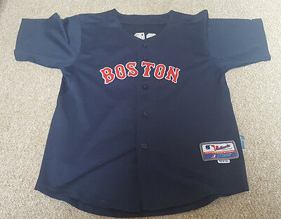 Boy's Boston Red Sox - Ellsbury - No. 2 - Blue Baseball Jersey/shirt - XL