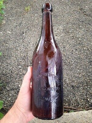 HUDEPOHL BREWING CO, Buckeye Brewery CINCINNATI OHIO BEER BOTTLE PRE-PROHIBITION