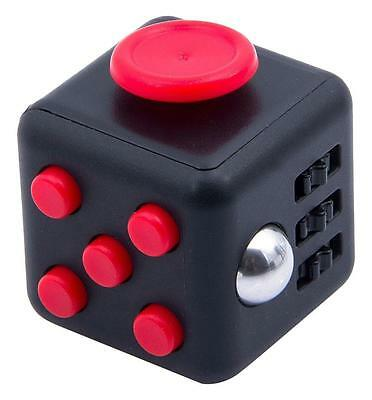 Focus Fidget Cube 6 Side Toy Anxiety Stress Relief Attention Kid Adult Gift ADHD