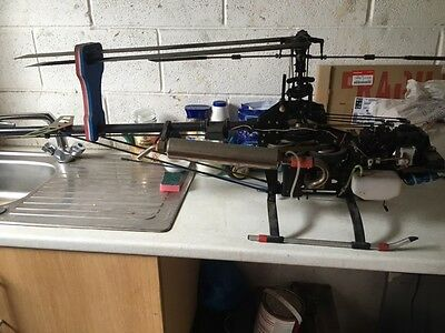 robbe futurer radio control petrol rc helicopter