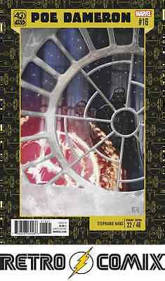 Marvel Star Wars Poe Dameron #16 40Th Anniversary Variant New/unread Bag&board