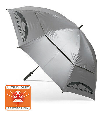 Sun Mountain UV Ultra Violet Sun Protection Umbrella Auto Open