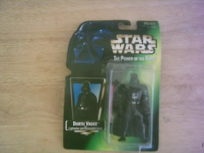 star wars darth vader power of the force action figure kenner 1997