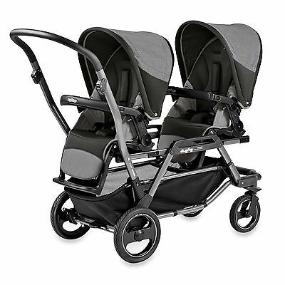 Peg Perego Duette Piroet Atmosphere - Double Baby Stroller - BRAND NEW IN BOX