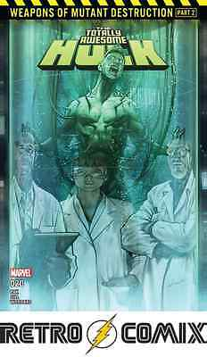 Marvel Totally Awesome Hulk #20 First Print New/unread Bagged & Boarded