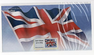 GB 2012 Union Flag Post and Go stamps Presentation Pack VGC P&G 8