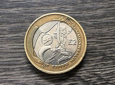 £2 Coin 2002 Commonwealth Games England Two Pound Coin