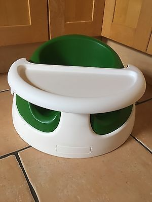 Mamas and Papas baby snug seat in Green & tray