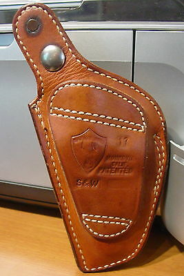 Safariland # 17 Colt Thumbsnap Holster Right Hand Stamped for S&W Revolvers ?