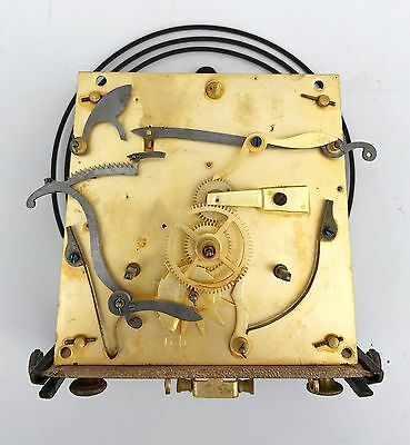 Double Weight Vienna Movement With Bracket Gong Sledge & Dial