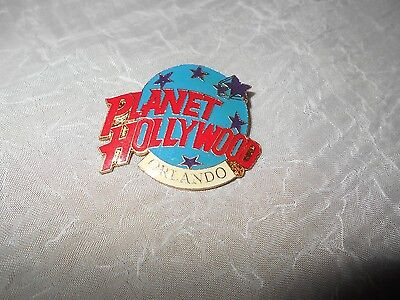 VINTAGE Planet Hollywood Orlando ROUND EARTH pin