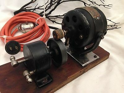 Antique V. Mueller Electro & Medical Electric Medical & X Ray Vacuum Pump #221