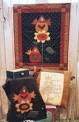 Meme's Quilts 'make It Grow' Patchwork  And Quilting Kit (Includes Wadding)
