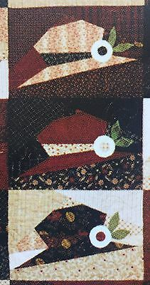 Pieces Of My Heart 'new Hats' Patchwork & Quilting Kit