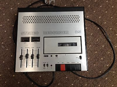 ITT Stereo Recorder 85 Cassette Player P.A.T. Tested and Working