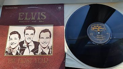 ELVIS THE FIRST YEAR GATEFOLD  12 inch LP KING  LABEL RECORDS MIXED COMPILATION