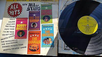 ALL THE STARS 12 inch LP GGL0162 GOLDEN GUINEA LABEL RECORDS ALL THE HITS