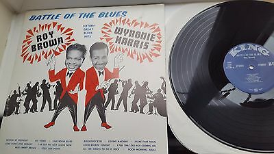 BATTLE OF THE BLUES   12 inch LP KING RECORDS ROY BROWN / WYNONIE HARRIS