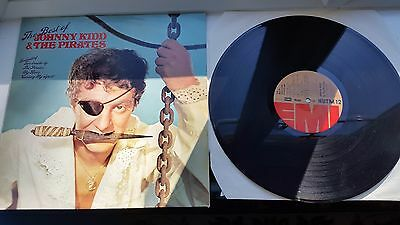 JOHNNY KID AND THE PIRATES  12 inch LP EMI LABEL RECORDS  THE BEST OF