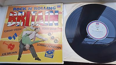 ROCK N ROLLING BRITAIN 12 inch LP DECCA LABEL RECORDS  MIXED COMPILATION