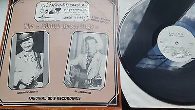 THE ISLAND RECORDINGS 12 inch LP WHITE  LABEL RECORDS  MIXED COMPILATION