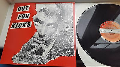 OUT FOR KICKS   12 inch LP LONIRAE RECORDS MIXED COMPILATION