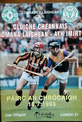 Kilkenny V Wexford 18/7/1993 Gaa Leinster Senior Hurling Final Replay