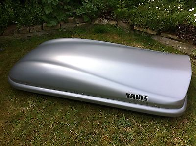 Long Thule Roof Box. Collect From Doncaster