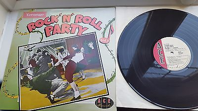 TEENAGE ROCK N ROLL PARTY VOL 1 12 inch LP ACE LABEL RECORDS  MIXED COMPILATION