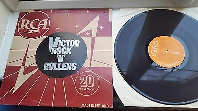 RCA VICTOR ROCK N ROLLERS  12 inch LP RCA LABEL RECORDS  MIXED COMPILATION