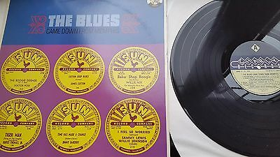THE BLUES 12 inch LP CHARLY LABEL RECORDS MIXED COMPILATION